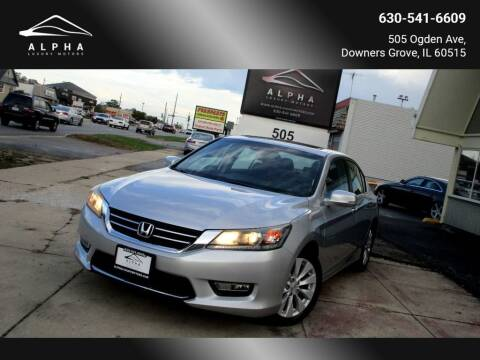 2013 Honda Accord for sale at Alpha Luxury Motors in Downers Grove IL