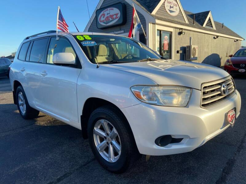 2008 Toyota Highlander for sale at Cape Cod Carz in Hyannis MA
