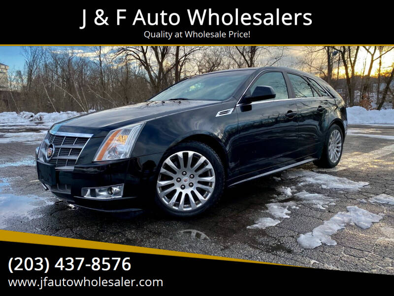 2010 Cadillac CTS for sale at J & F Auto Wholesalers in Waterbury CT