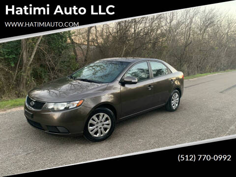 2010 Kia Forte for sale at Hatimi Auto LLC in Buda TX