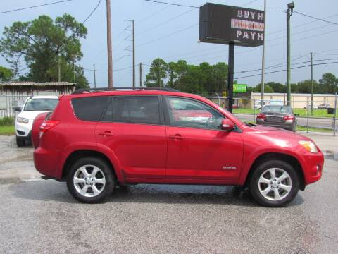 2010 Toyota RAV4 for sale at Checkered Flag Auto Sales EAST in Lakeland FL