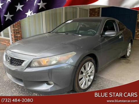 2008 Honda Accord for sale at Blue Star Cars in Jamesburg NJ