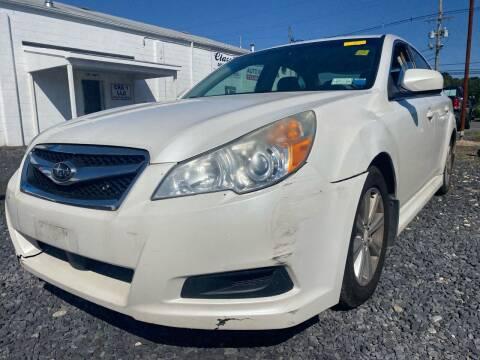 2012 Subaru Legacy for sale at CRS 1 LLC in Lakewood NJ