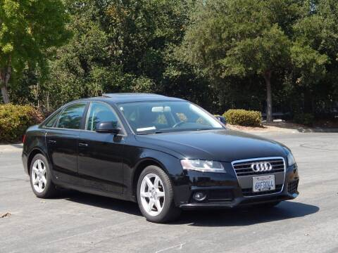 2009 Audi A4 for sale at Crow`s Auto Sales in San Jose CA