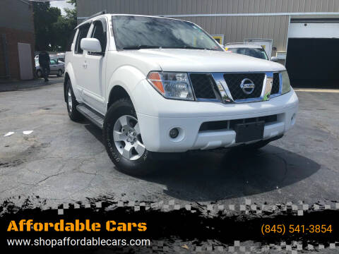 2006 Nissan Pathfinder for sale at Affordable Cars in Kingston NY