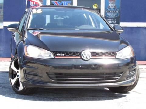 2016 Volkswagen Golf for sale at VIP AUTO ENTERPRISE INC. in Orlando FL