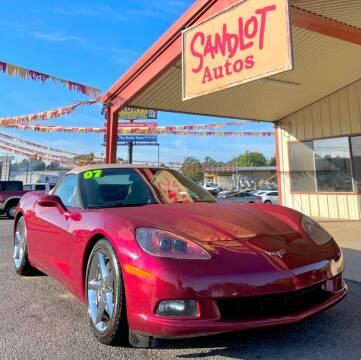 2007 Chevrolet Corvette for sale at Sandlot Autos in Tyler TX