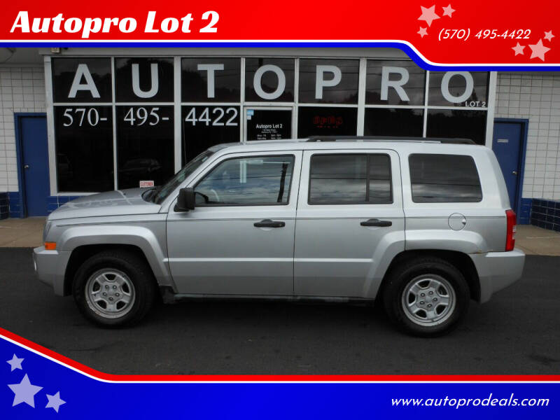2008 Jeep Patriot for sale at Autopro Lot 2 in Sunbury PA