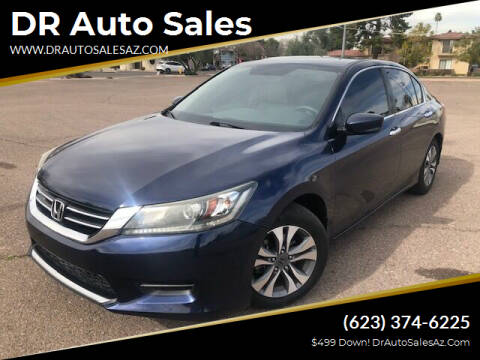 2014 Honda Accord for sale at DR Auto Sales in Glendale AZ