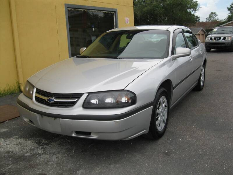 2002 Chevrolet Impala for sale at PARK AUTOPLAZA in Pinellas Park FL