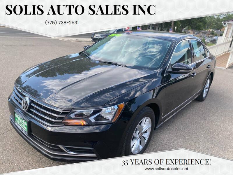 2016 Volkswagen Passat for sale at SOLIS AUTO SALES INC in Elko NV