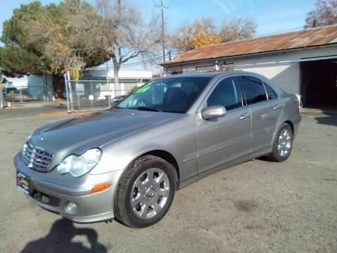 2005 Mercedes-Benz C-Class for sale at Larry's Auto Sales Inc. in Fresno CA