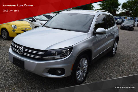 2013 Volkswagen Tiguan for sale at American Auto Center in Austin TX