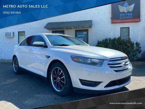 2015 Ford Taurus for sale at METRO AUTO SALES LLC in Blaine MN