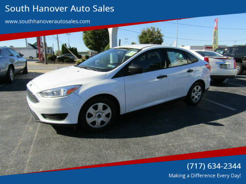 2017 Ford Focus for sale at South Hanover Auto Sales in Hanover PA