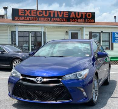2016 Toyota Camry for sale at Executive Auto in Winchester VA
