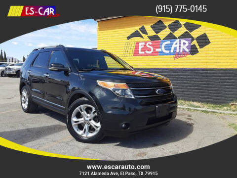 2011 Ford Explorer for sale at Escar Auto in El Paso TX