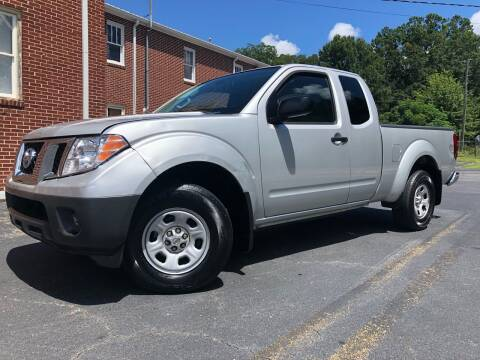 2012 Nissan Frontier for sale at El Camino Auto Sales Gainesville in Gainesville GA