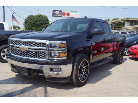 2015 Chevrolet Silverado 1500 for sale at Credit Connection Sales in Fort Worth TX