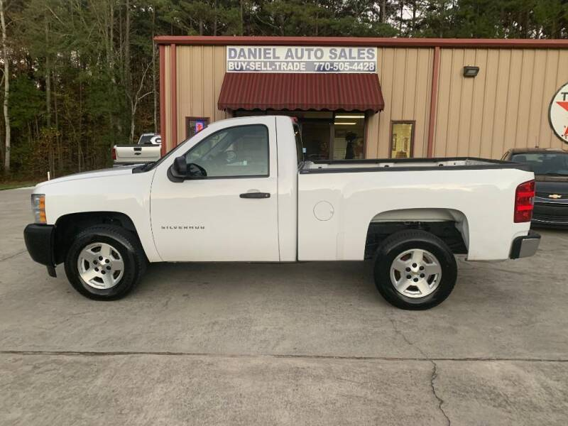 2012 Chevrolet Silverado 1500 for sale at Daniel Used Auto Sales in Dallas GA