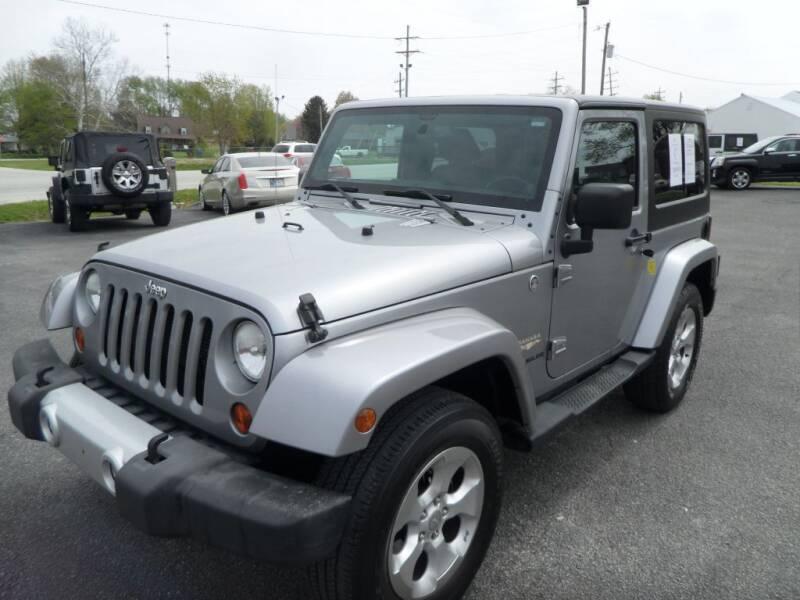 2013 Jeep Wrangler for sale at CARSON MOTORS in Cloverdale IN