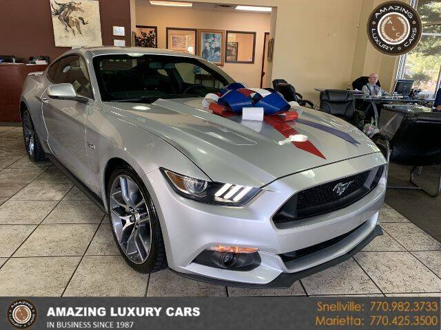 2015 Ford Mustang for sale at Amazing Luxury Cars in Snellville GA