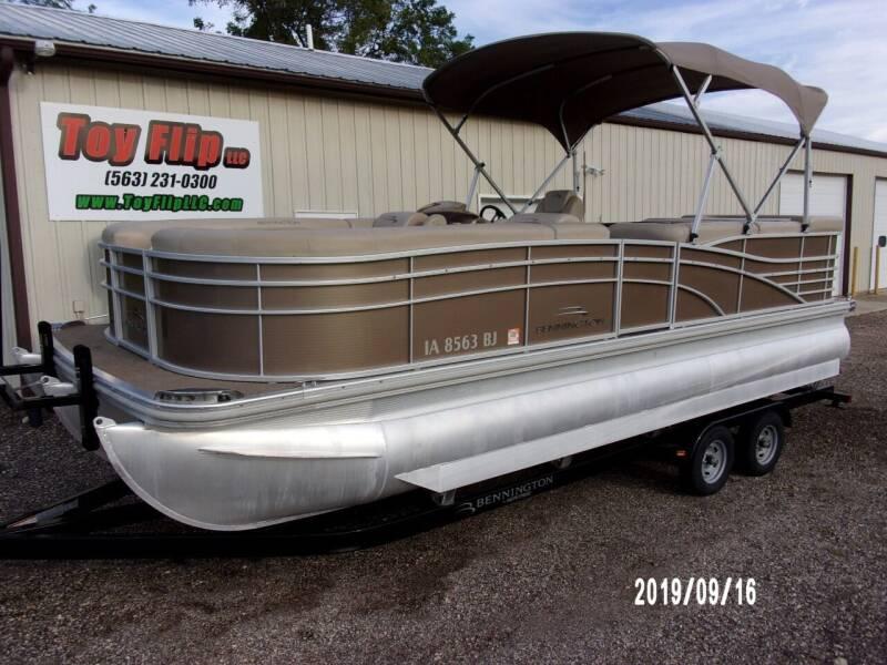 2012 Bennington 2275 RLi TT for sale at Toy Flip LLC in Cascade IA