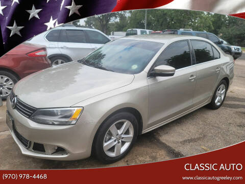 2014 Volkswagen Jetta for sale at Classic Auto in Greeley CO