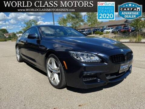 2013 BMW 6 Series for sale at World Class Motors LLC in Noblesville IN
