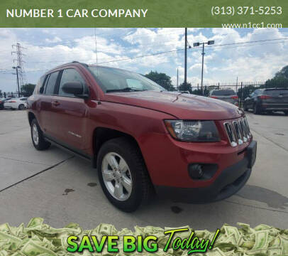 2014 Jeep Compass for sale at NUMBER 1 CAR COMPANY in Detroit MI