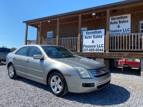 2009 Ford Fusion for sale at Vermilion Auto Sales & Finance in Erath LA