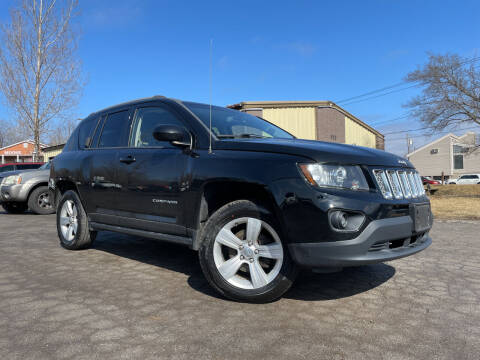2015 Jeep Compass for sale at GLOVECARS.COM LLC in Johnstown NY