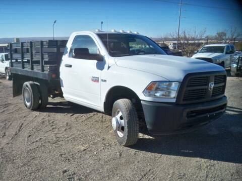 2012 RAM Ram Chassis 3500 for sale at Samcar Inc. in Albuquerque NM