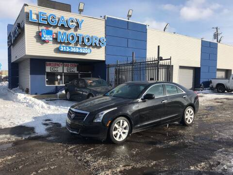 2014 Cadillac ATS for sale at Legacy Motors in Detroit MI