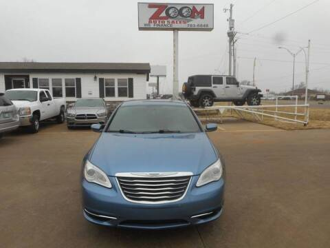2011 Chrysler 200 for sale at Zoom Auto Sales in Oklahoma City OK