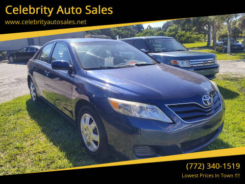 2011 Toyota Camry for sale at Celebrity Auto Sales in Fort Pierce FL