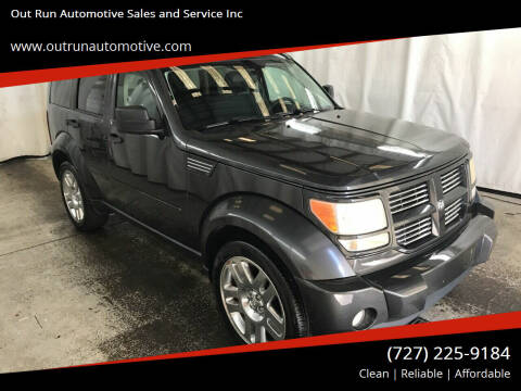 2010 Dodge Nitro for sale at Out Run Automotive Sales and Service Inc in Tampa FL