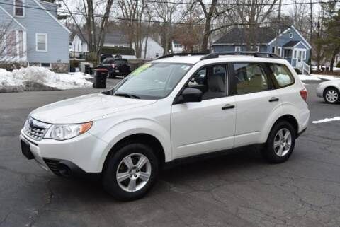 2012 Subaru Forester for sale at Absolute Auto Sales, Inc in Brockton MA
