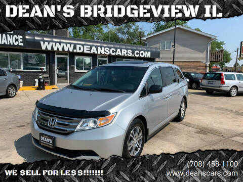 2012 Honda Odyssey for sale at DEANSCARS.COM in Bridgeview IL