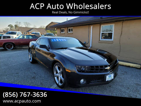 2013 Chevrolet Camaro for sale at ACP Auto Wholesalers in Berlin NJ