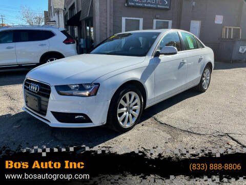 2014 Audi A4 for sale at Bos Auto Inc-Boston in Jamaica Plain MA