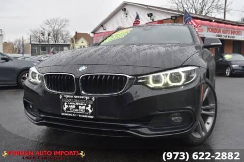 2018 BMW 4 Series for sale at www.onlycarsnj.net in Irvington NJ