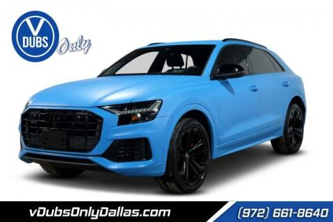 2019 Audi Q8 for sale at VDUBS ONLY in Dallas TX