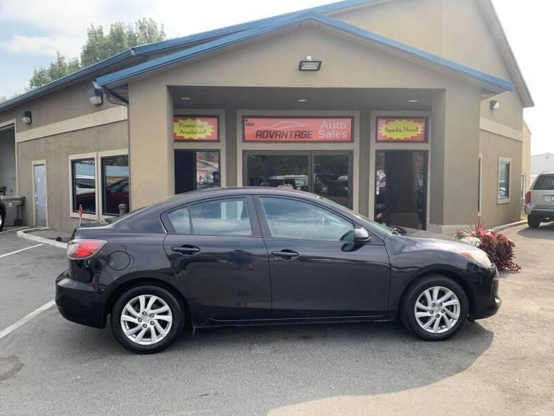 2012 Mazda MAZDA3 for sale at Advantage Auto Sales in Garden City ID