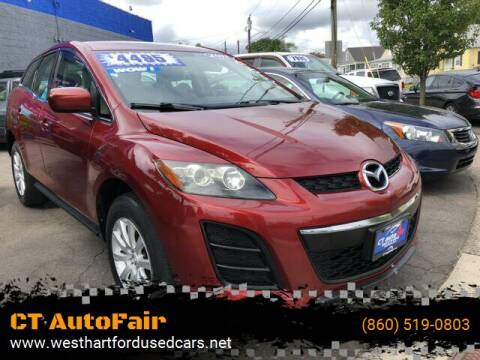 2011 Mazda CX-7 for sale at CT AutoFair in West Hartford CT