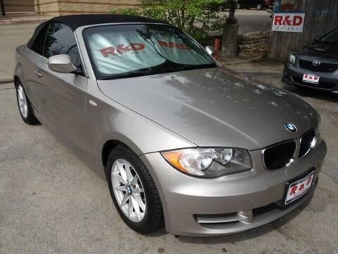 2011 BMW 1 Series for sale at R & D Motors in Austin TX