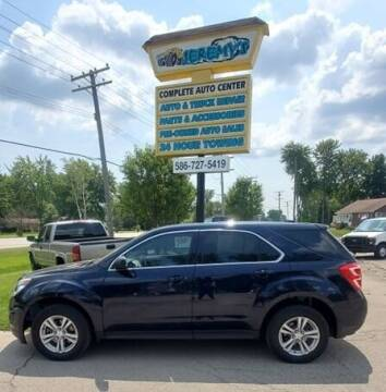 2016 Chevrolet Equinox for sale at JEREMYS AUTOMOTIVE in Casco MI