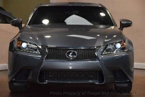 2014 Lexus GS 350 for sale at Tampa Bay AutoNetwork in Tampa FL