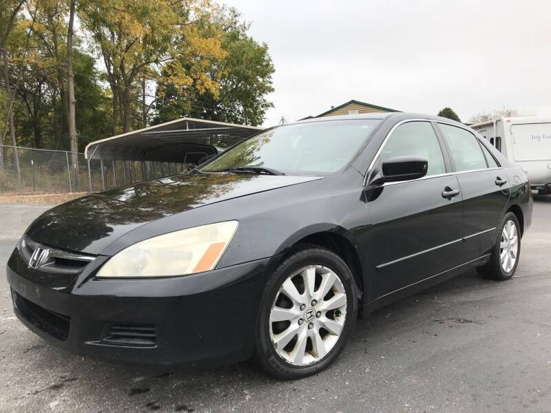 2007 Honda Accord for sale at Prime Time Auto Sales LLC in Martinsville IN
