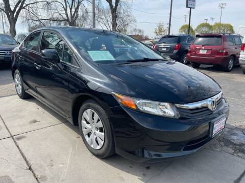 2012 Honda Civic for sale at Direct Auto Sales in Milwaukee WI